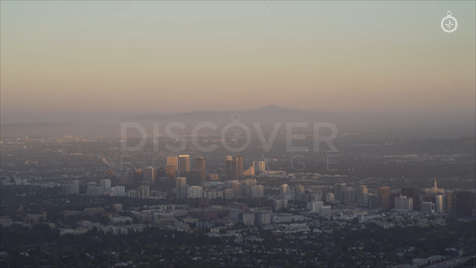 Los Angeles: Aerial Sunset 19