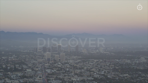 Los Angeles: Aerial Sunset 20