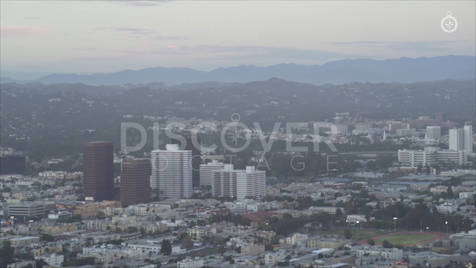 Los Angeles: Aerial Sunset 21