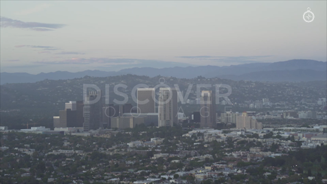 Los Angeles: Aerial Sunset 22