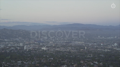 Los Angeles: Aerial Sunset 23