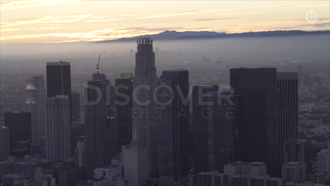 Los Angeles: Aerial Sunset 24