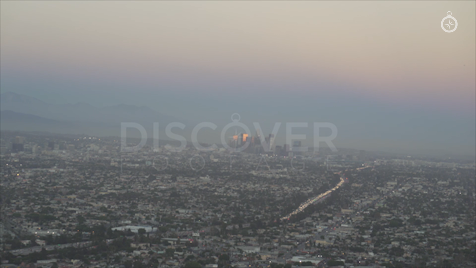 Los Angeles: Aerial Sunset 25
