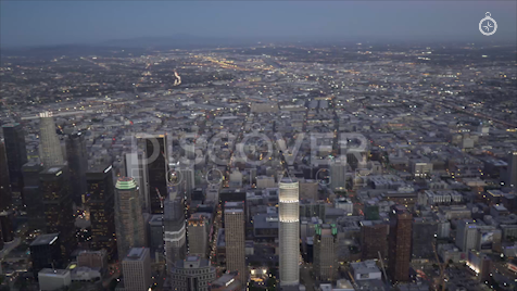 Los Angeles: Aerial Sunset 26