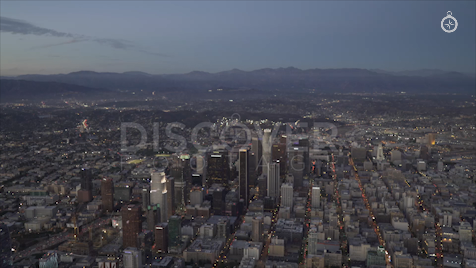 Los Angeles: Aerial Sunset 27