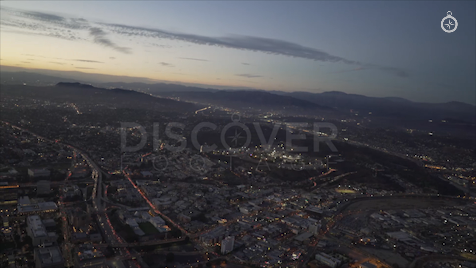 Los Angeles: Aerial Sunset 28