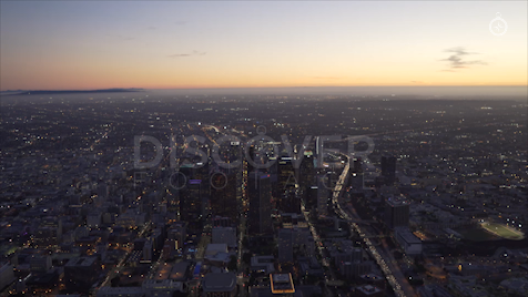 Los Angeles: Aerial Sunset 29