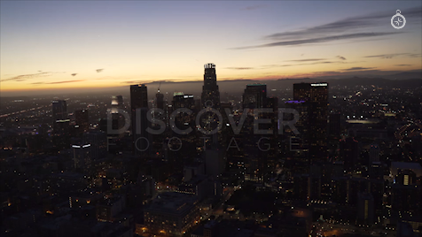 Los Angeles: Aerial Sunset 30