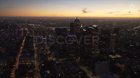 Los Angeles: Aerial Sunset 31