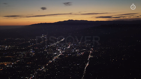 Los Angeles: Aerial Sunset 34