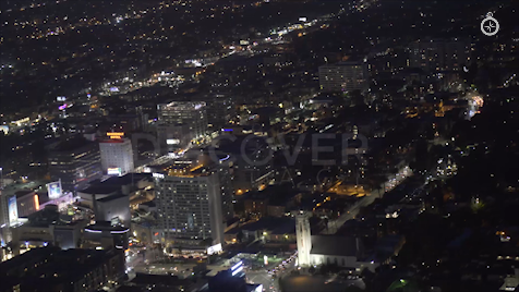 Los Angeles: Aerial Sunset 36