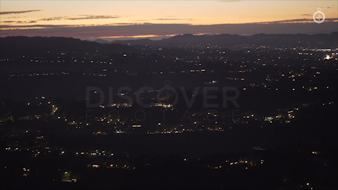 Los Angeles: Aerial Sunset 40