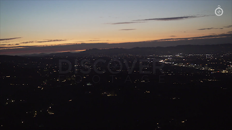 Los Angeles: Aerial Sunset 41