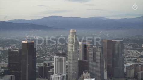 Los Angeles: Aerial Sunset 43