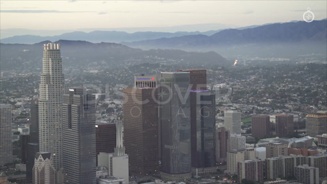 Los Angeles: Aerial Sunset 44