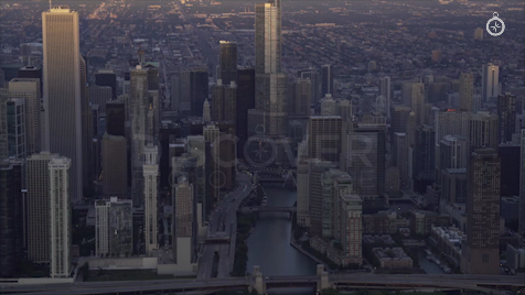 Chicago: Aerial Sunrise 2