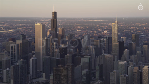 Chicago: Aerial Sunrise 5