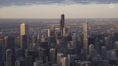 Chicago: Aerial Sunrise 6