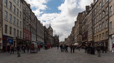 Edinburgh: Time-lapse 8