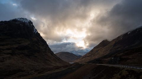 Scottish Highlands: Time-lapse 3