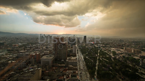Mexico City: Time-lapse 3