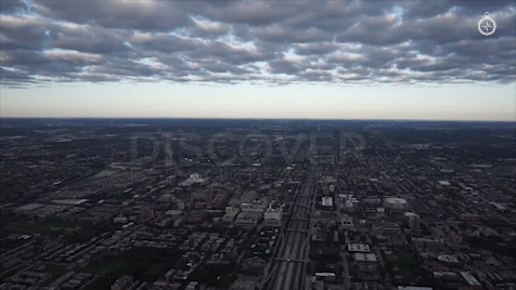Chicago: Aerial Sunrise Wide 33