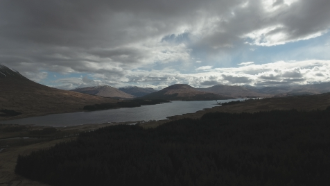 Scottish Highlands: Aerial 2