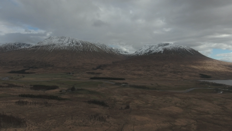 Scottish Highlands: Aerial 3