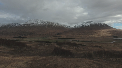 Scottish Highlands: Aerial 4