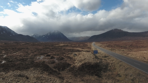 Scottish Highlands: Aerial 5