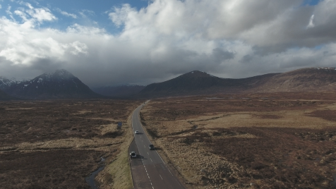 Scottish Highlands: Aerial 9