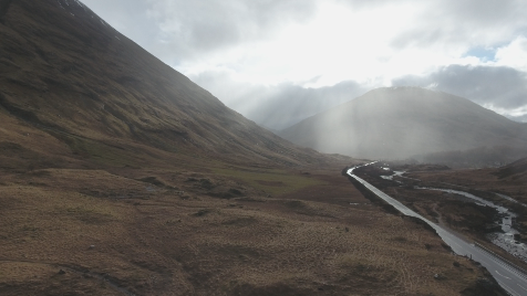 Scottish Highlands: Aerial 10