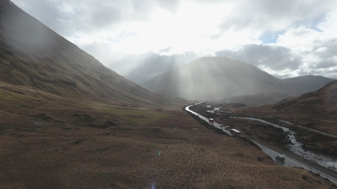 Scottish Highlands: Aerial 11