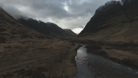 Scottish Highlands: Aerial 12