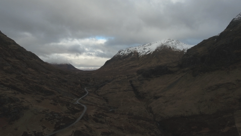 Scottish Highlands: Aerial 13