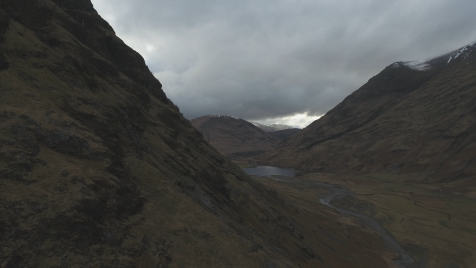 Scottish Highlands: Aerial 14