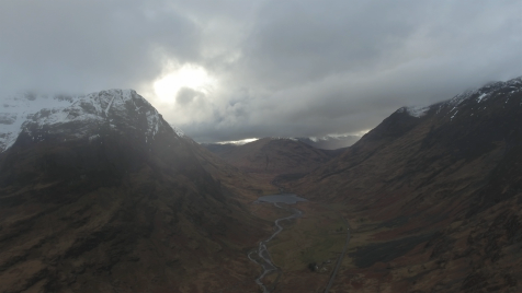 Scottish Highlands: Aerial 16