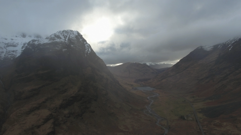 Scottish Highlands: Aerial 17