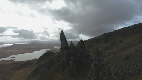 Scottish Highlands: Aerial 20
