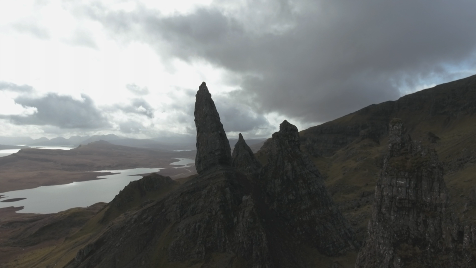 Scottish Highlands: Aerial 21