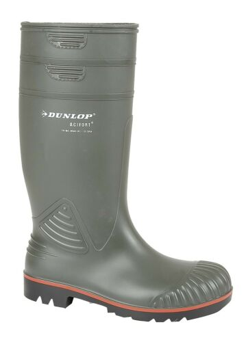 Dunlop Actifort Full Safety Heavy Duty Wellington Boots 138