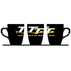 Official Isle of Man TT Mug - Black MUG2
