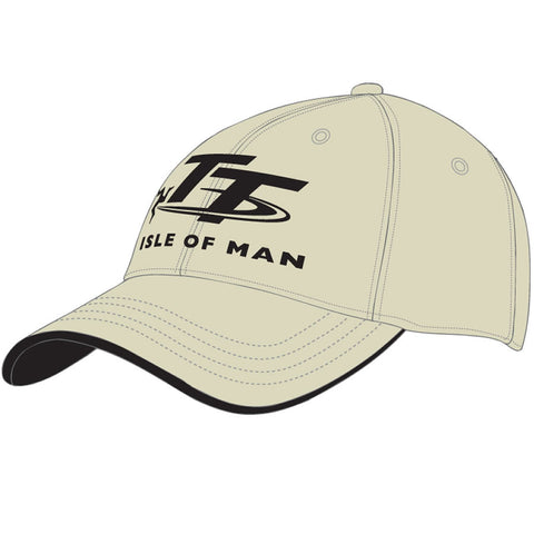 Official Isle of Man TT Cap Beige H5