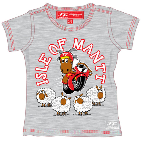 Official Isle of Man TT Baby T-Shirt Ramsey BKTS1