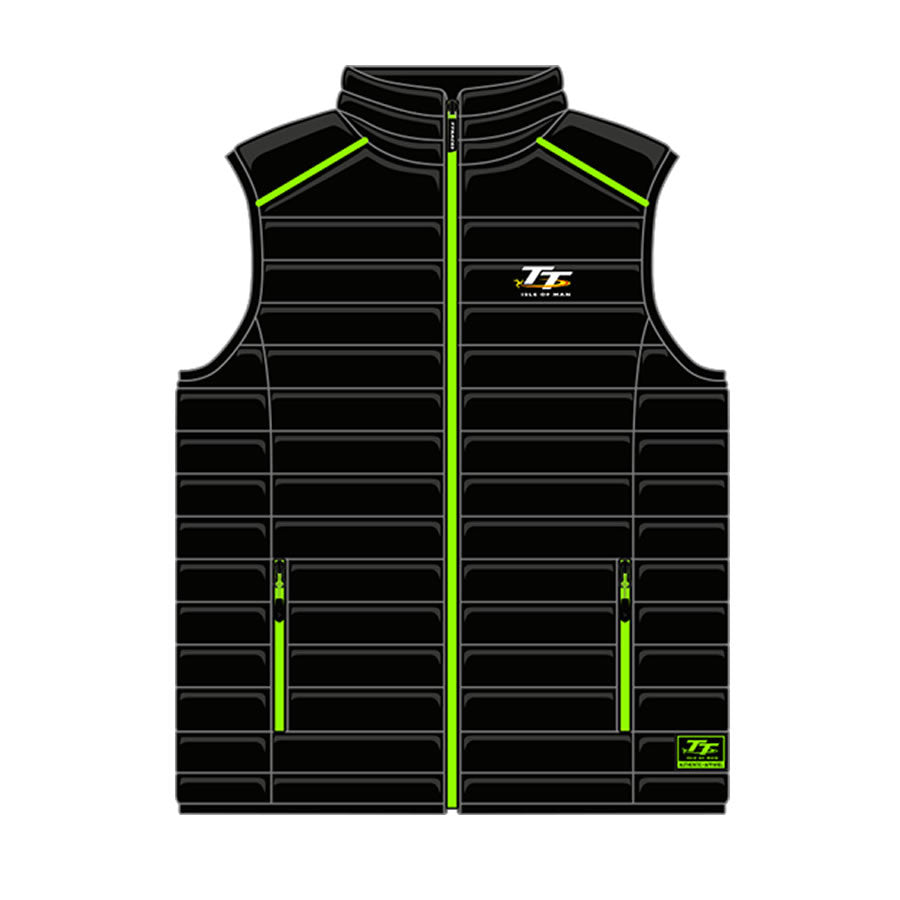 Official Isle of Man TT Kids Body Warmer ZKBW1