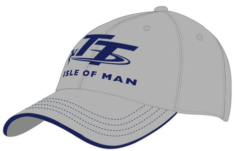 Official Isle of Man TT Cap Grey