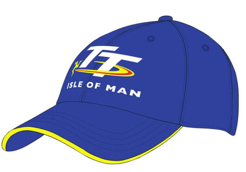 Official Isle of Man TT Cap Blue