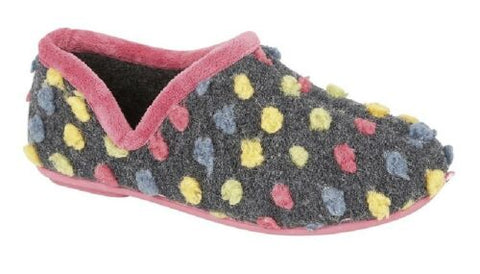 Ladies Slipper Knitted Textile 311