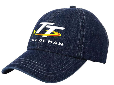 Official Isle of Man TT Cap Denim