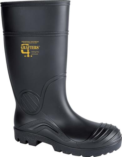 Grafters Wellington Boots Full Safety 408